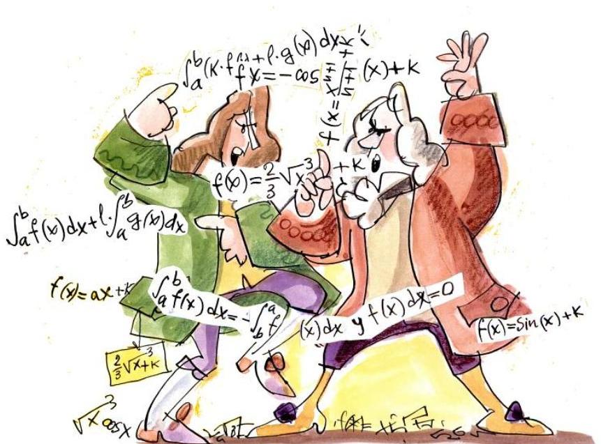 Resultado de imagen de leibniz vs newton